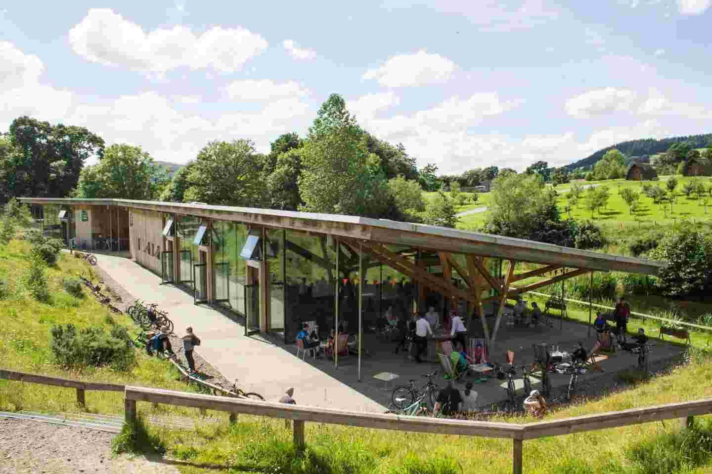 Peel Cafe - Glentress Forest
