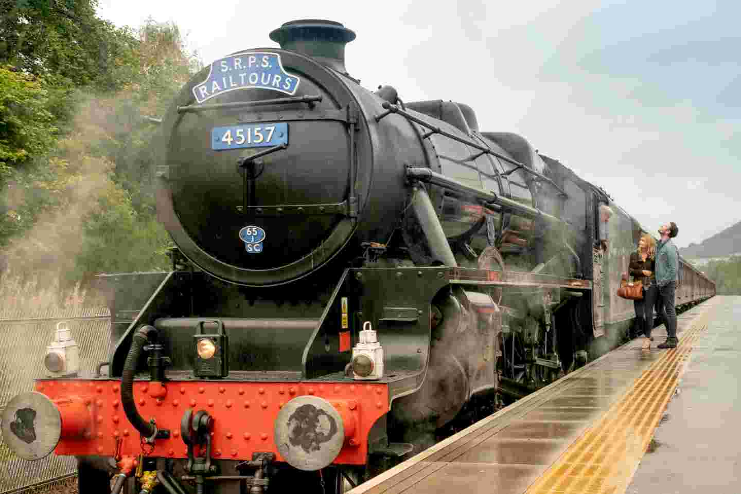 Steam Train Experience, Borders Railway