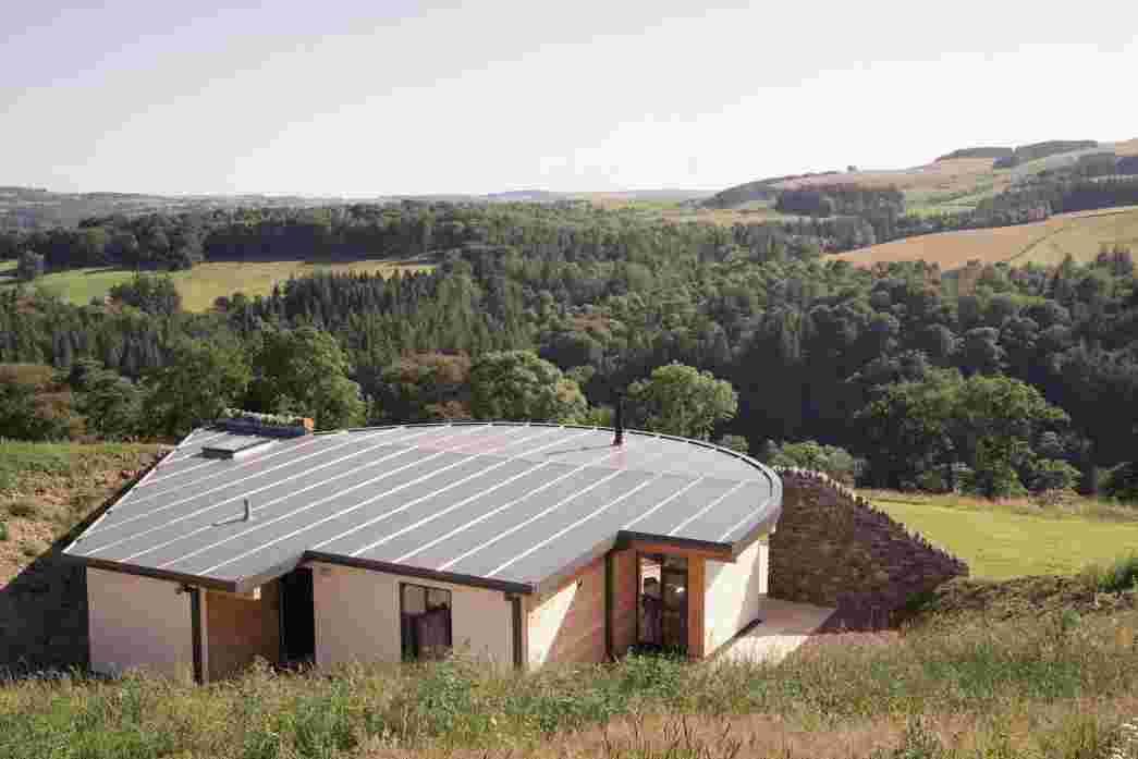 Rink Hill looks out above the Tweed to the Scottish Borders landscape, with views for miles