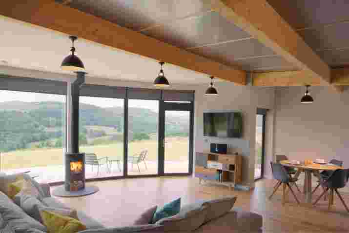 Rural self-catering in the Scottish Borders